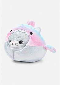 Justice Undercover Shark Kitty Squishable