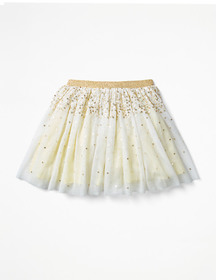 Boden Sparkly Sequin Tulle Skirt