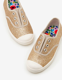 Boden Laceless Canvas Sneakers