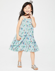 Boden Twirly Woven Dress