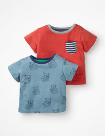 Boden Twin Pack T-shirts