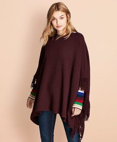 Brooks Brothers Wool-Blend Poncho