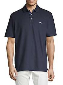 Tommy Bahama Short Sleeve Polo Shirt BLUE NOTE