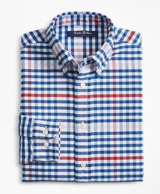 Brooks Brothers Boys Cotton Oxford Multi-Color Gin