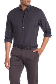 BOSS Evory Long Sleeve Straight Fit Shirt