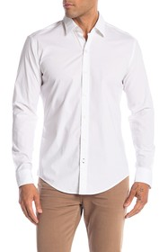 BOSS Robbie Long Sleeve Sharp Fit Shirt