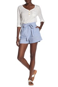Tart Wesley High Waist Stripe Shorts