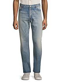 Balenciaga Relaxed-Fit Jeans BLUE