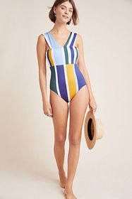 Anthropologie Mei L'ange Tori One-Piece Swimsuit