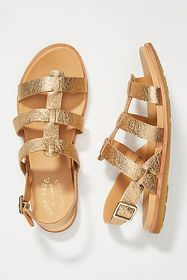 Anthropologie Kork-Ease Yoga Leather Sandals