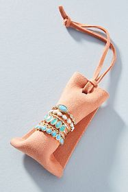 Anthropologie Teresa Stacking Ring Set