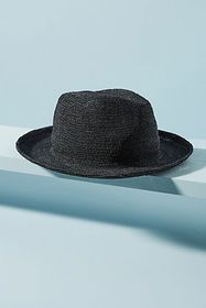 Anthropologie Cape May Straw Fedora