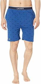 Lacoste Lounge Knit Print Shorts