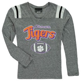 Clemson Tigers 5th & Ocean by New Era Girls Youth