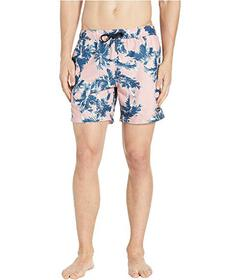 Perry Ellis Printed Swim Shorts