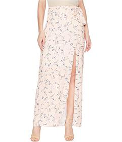 J.O.A. High Slit Maxi Skirt