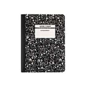 Staples Composition Notebook, 9.75 x 7.5, Wide Rul