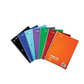 Staples 1-Subject Notebook, 8 x 10.5, College Rule