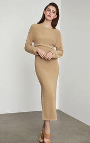 BCBG Two-Piece Sweater Dress