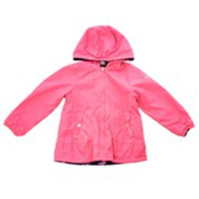 LONDON FOG Girls Reversible Butterfly Jacket with