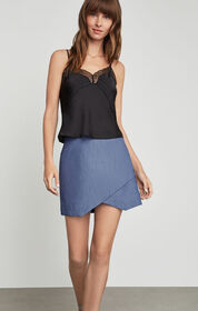 BCBG Embroidered Scallops Cami Top