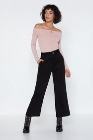 Nasty Gal Womens Rose Bare in Mind Off-the-Shoulde