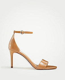 Jaden Patent Leather Heeled Sandals