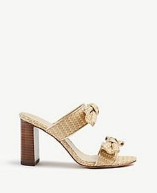 Janie Bow Heeled Sandals