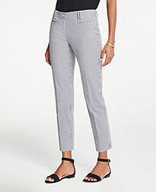 The Cotton Crop Pant In Seersucker