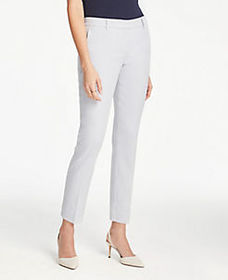 The Ankle Pant In Linen Blend - Curvy Fit