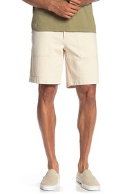 Frye Solid Canvas Shorts