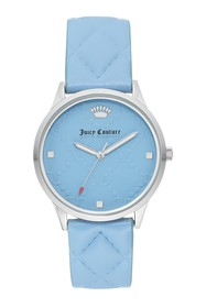 Juicy Couture Women's Light Blue Leather Watch