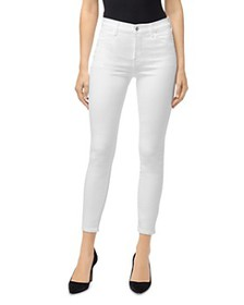 J Brand - Alana High-Rise Ankle Skinny Jeans in Wh