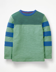 Boden Sporty Colourblock T-shirt