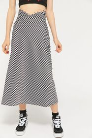 C/meo Collective Provided Houndstooth Midi Skirt