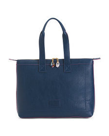 TERRIDA Made In Italy Leather Tote