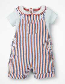 Boden Overall and Bodysuit Set