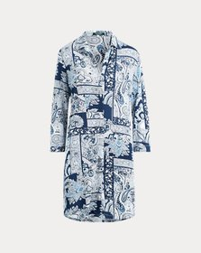 Ralph Lauren Paisley Patchwork Sleep Shirt