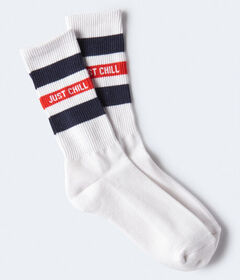 Aeropostale Just Chill Crew Socks