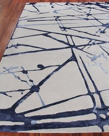 Exquisite Rugs Starlight Hand-Knotted Rug 6' x 9'