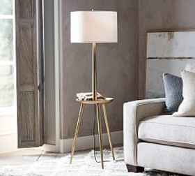 Pottery Barn Kinsley Floor Lamp with Tray