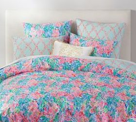Pottery Barn Lilly Pulitzer Fan Sea Pants Percale
