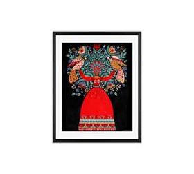 Pottery Barn Equilibrium Goddess Framed Print By D