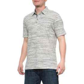 True Grit Royal Grey Pocket Polo Shirt - Short Sle