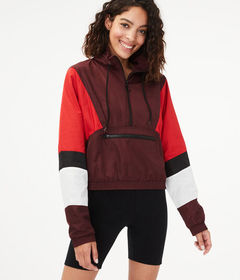 Aeropostale Colorblocked Windbreaker Jacket