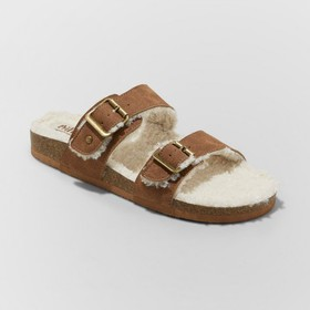 Women's Mad Love Kali Multi Strap Sherpa Footbed S
