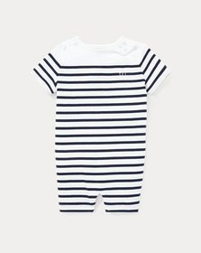 Ralph Lauren Striped Cotton Shortall