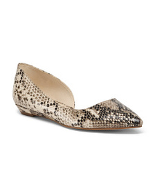 NINE WEST Pointy Toe D'orsay Flats