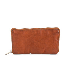 VALENTINA Made In Italy Vachetta Leather Wallet