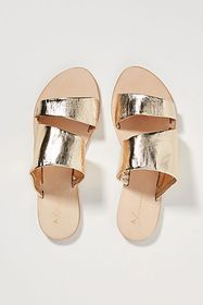Anthropologie Anthropologie Classic Metallic Slide